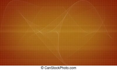 Orange background - FullHD background with flying animation...