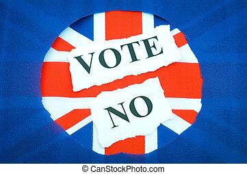投票, 運動, 不