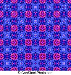 Abstract blue pink geometrical texture or background made...