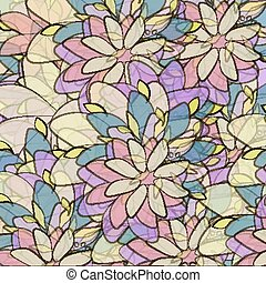 Decorative floral background vector abstract   texture