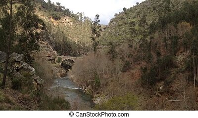 Alvarenga bridge near the Paiva gangways are located on the...