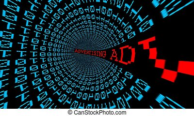 Advertising data tunnel