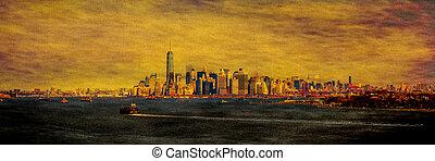 Manhattan, Skyline,