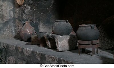 Old Kitchen, Abbey Santa Catalina - Abbey Santa Catalina,...