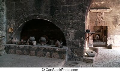 Old Kitchen, Abbey Santa Catalina