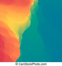Colorful Abstract Background. Multicolor Design Template. -...