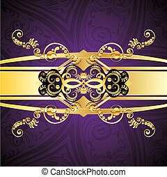 Purple Decorative Background