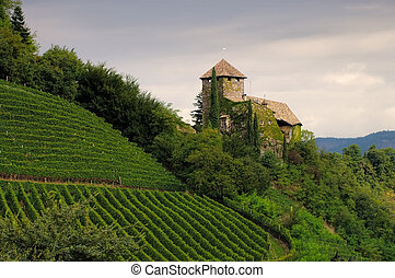 castle Warth near Bolzano, Alto Adige