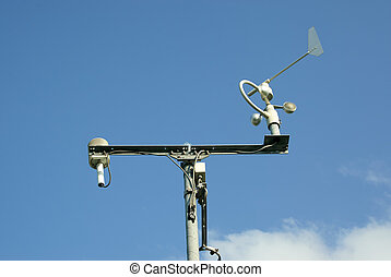 Meteorological station and tools - MINSK, BELARUS - AUGUST...