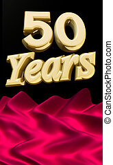 Golden 50 years anniversary ceremony