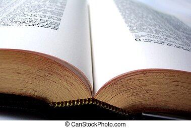 Open Bible - Bible open