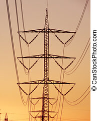 High-voltage electric line