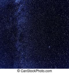 Star sky background - Night sky with lot of shiny stars,...