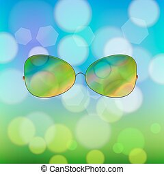 Colorful Sun Glasses