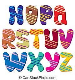 alphabet (Part 2)