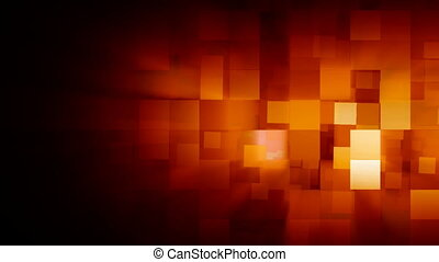 Motion background with animated squares Full HD