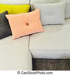 Gewebe Sofa Weich Kissen