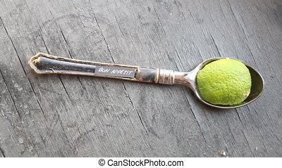 Bon Apetit - handwritten on spoon - Bon Apetit - handwritten...