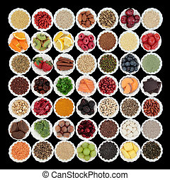 Health and Superfood Collection - Large health and superfood...