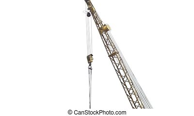 crane lifting industry force for the construction video -...