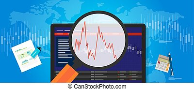 volatile market stock volatility down crash trend price...