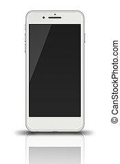 Modern touch screen smartphone. - Modern touch screen...