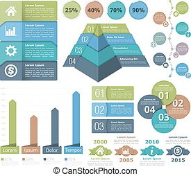 Infographic Elements - Infographic design elements -...