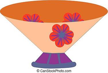 Basket - Simple flower basket.