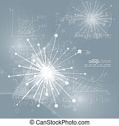 Array with dynamic emitted particles. Node molecule...