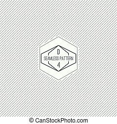 Seamless pattern with hipster vintage old banner Repeating...