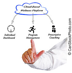 diagram of Cloud Based Wellness