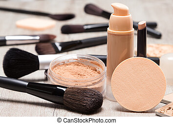 Makeup products to even out skin tone and complexion -...