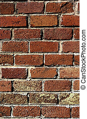 Textured image of brick wall. Good as backdrop or...