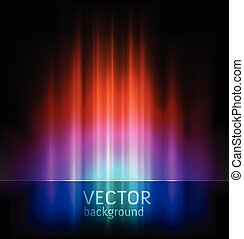 abstract lights vector backgrounds