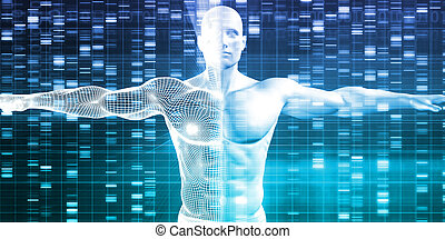 DNA Encoding and Genetic Code as a Science Abstract