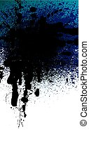 spray background - black and white spray background, vector...
