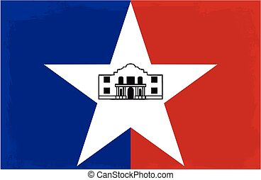 San Antonio City Flag - The flag as adopted by the city of...