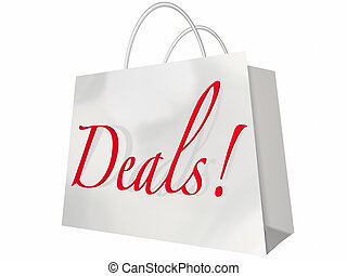 Deals Best Price Store Shopping Bag Discount Event