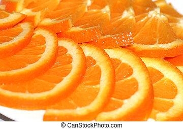 orange - abstract scene with orange