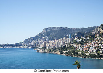 Montecarlo-France - Monte Carlo overlooking the C?te d'Azur