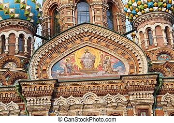 fresco on church wall