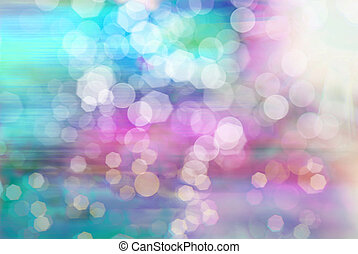 Abstract bokeh background - Bright vivid colorful sunny...