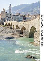 Bobbio pure water bridge