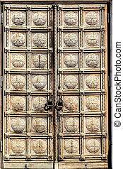 The door of St. Alexander Nevsky