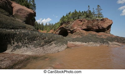 Fundy Coast New Brunswick Tide Rocks Scenic - Bay of Fundy...
