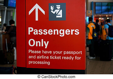 passengers only
