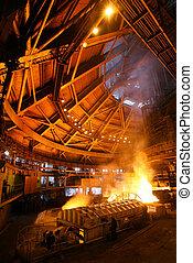 blast furnace, Kryvorizhstal, Kryvyi Rih, Ukraine