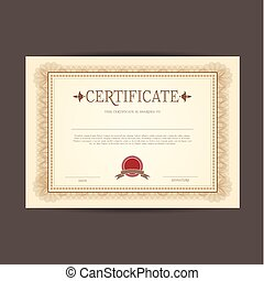 certificate design background