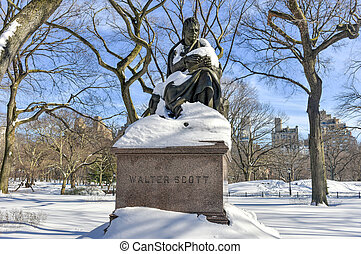 Bethesda Fountain - Central Park, NYC - Walter Scott...