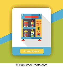 Vending Machine flat icon
